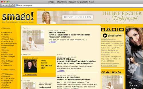 Helne Fischer Zaubermond - nach Countdown