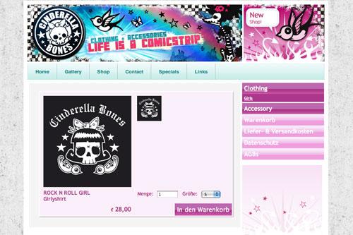 Cinderella Bones Shop