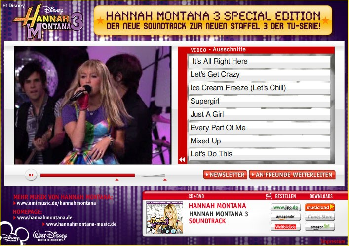 Hannah Montana TV Staffel 3