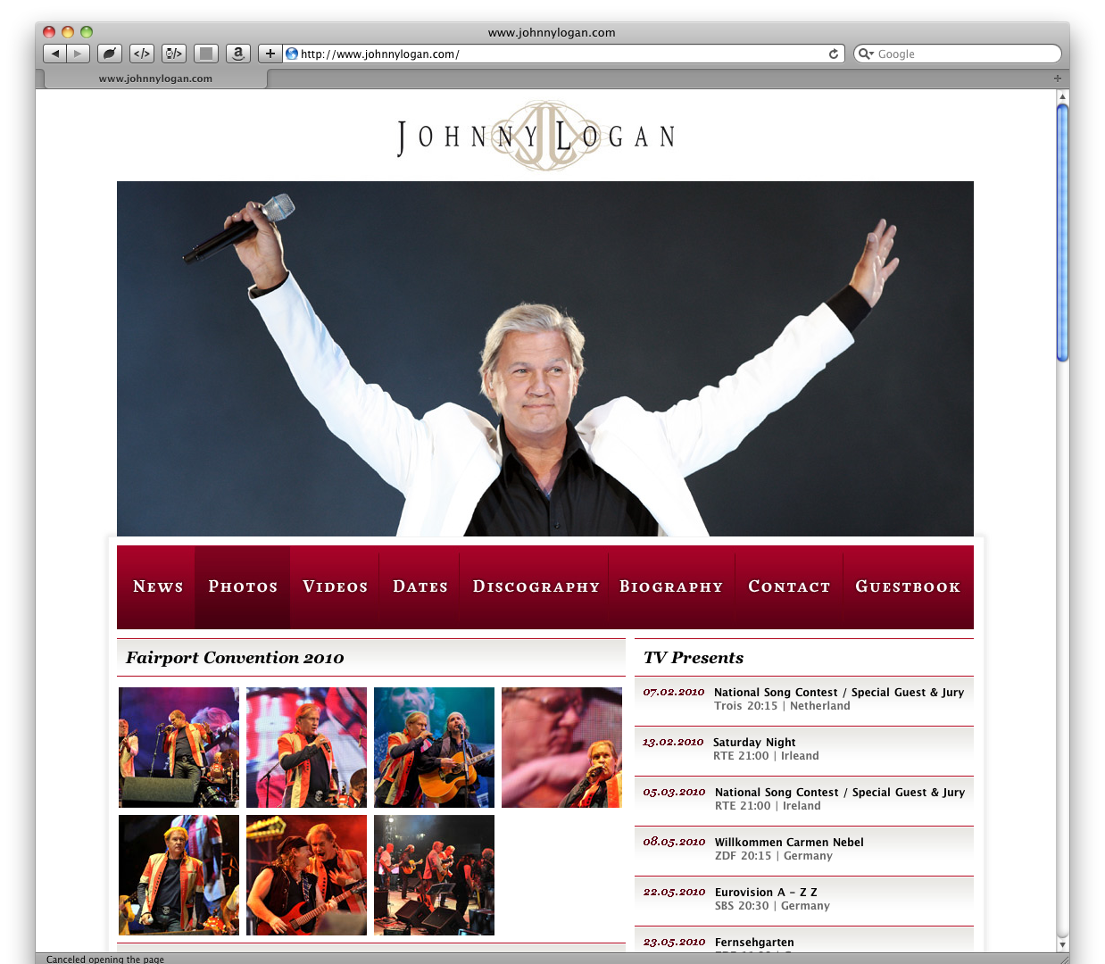 Johnny Logan - Official Website