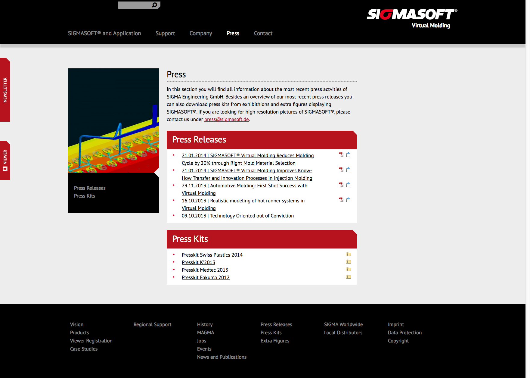 Press - SigmaSoft