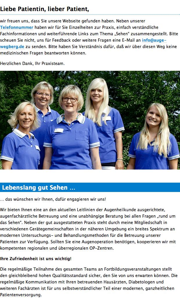 Augenarzt in Wegberg - Liebe Patientin, lieber Patient, » Dr. med. Bianka Strunck-Kortenbusch 12