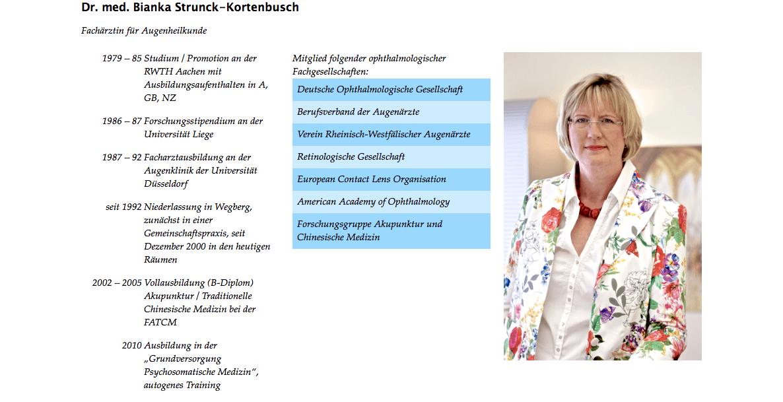 Augenarzt in Wegberg - Liebe Patientin, lieber Patient, » Dr. med. Bianka Strunck-Kortenbusch 9