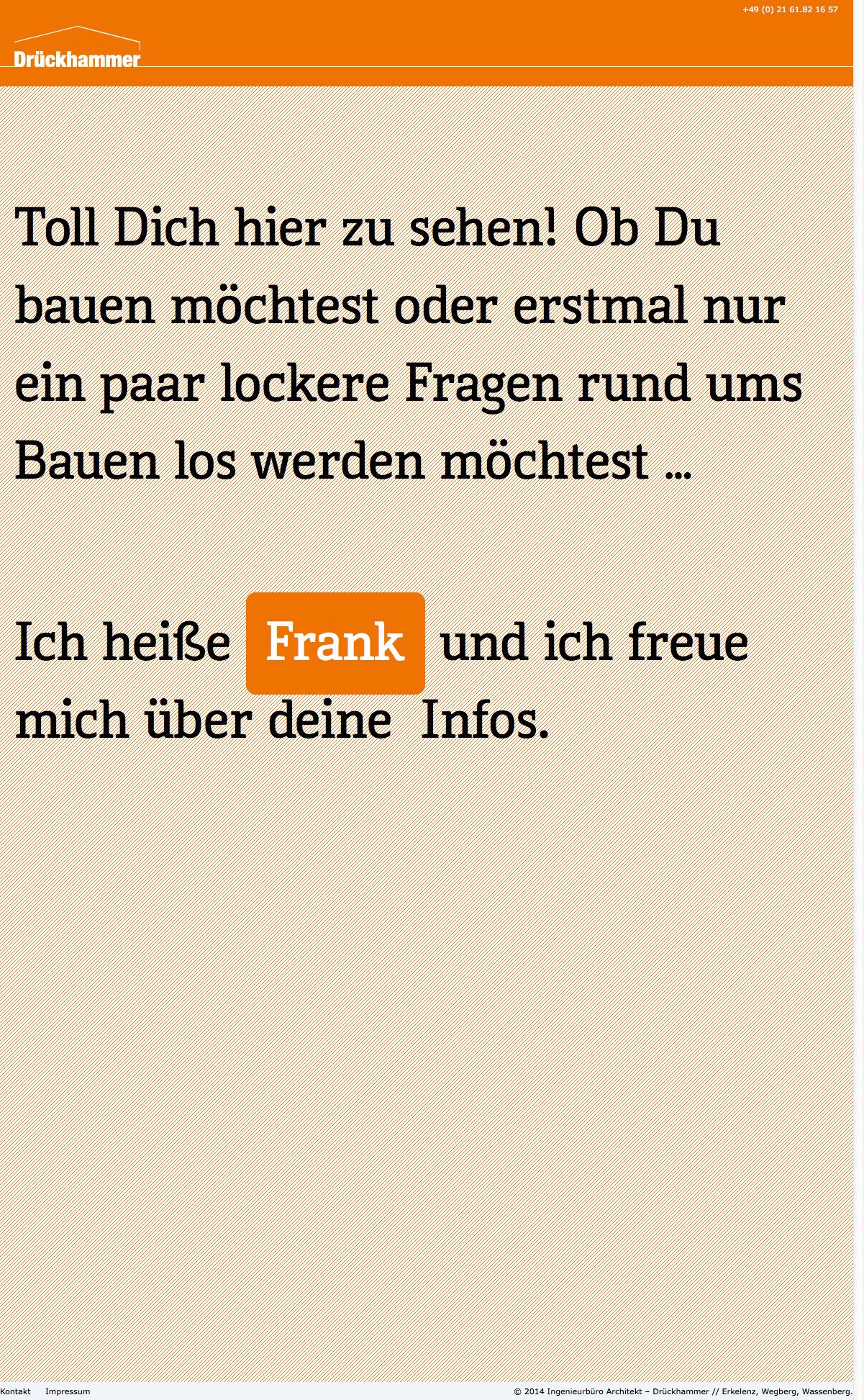 Duz mich! » Ingenieurbüro Architekt - Drückhammer -- Erkelenz, Wegberg, Wassenberg
