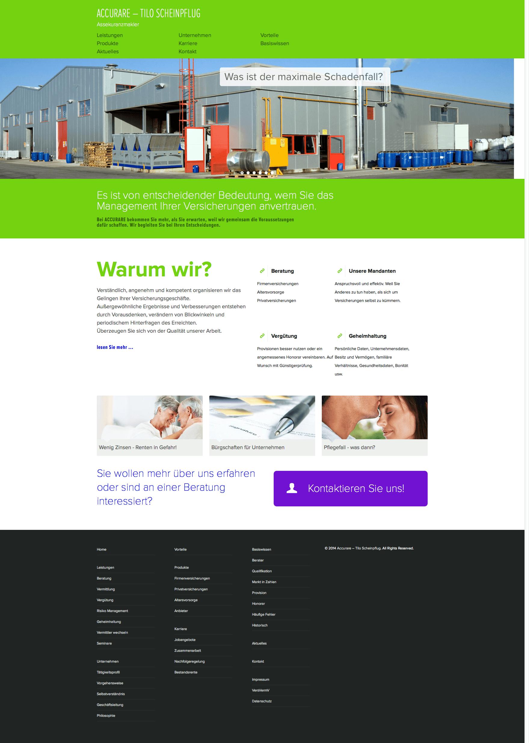 Home » Accurare – Tilo Scheinpflug Webdesign